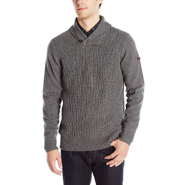 Ben Sherman - Texture Shawl Mens Collar Sweater