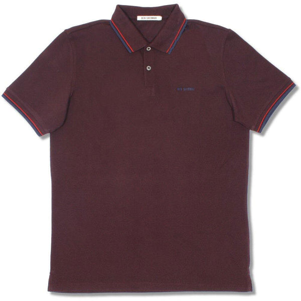 Ben Sherman - Block Font Romford Mens Polo Shirt