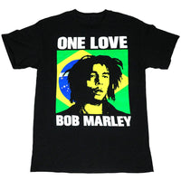 Bob Marley - Brazil Icon Mens T Shirt