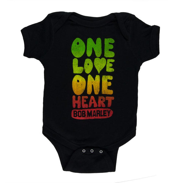 Bob Marley - One Love One Heart Baby One Piece
