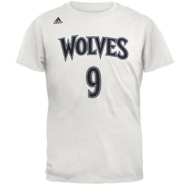 Minnesota Timberwolves - Rubio Name And Number Home Mens T Shirt