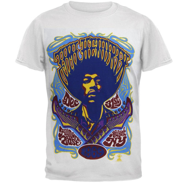 Jimi Hendrix - Fillmore East 1969 Soft Mens T Shirt