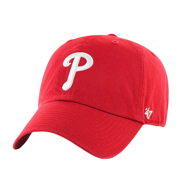 Philadelphia Phillies - Logo Clean Up Red Adjustable Baseball Cap