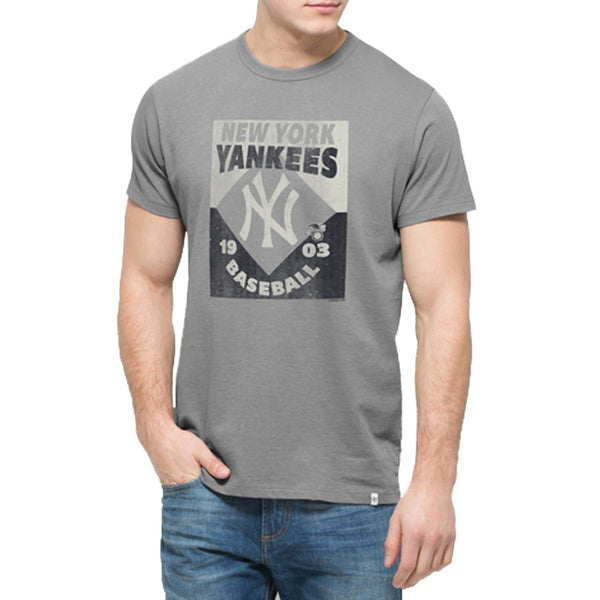 New York Yankees - Knockaround Flanker Logo T-Shirt