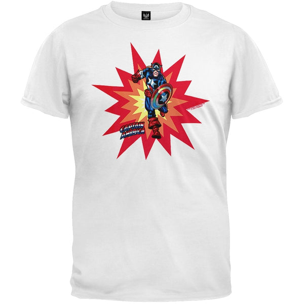 Captain America - Pow T-Shirt