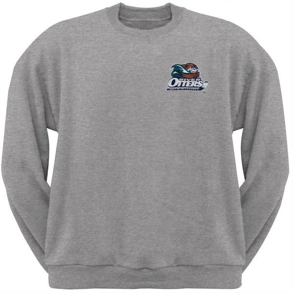 Missouri River Otters - Crest Logo Adult Crew Sweatshirt