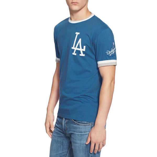 Los Angeles Dodgers - LA Logo Adult Jersey T-Shirt
