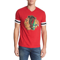 Chicago Blackhawks - Logo Hat Trick Adult Jersey T-Shirt