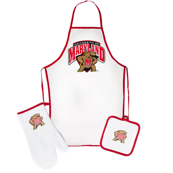 Maryland Terrapins - Logo Barbeque Tailgate Set