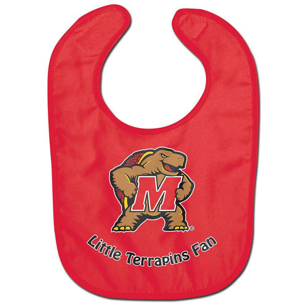 Maryland Terrapins - Little Fan All Pro Baby Bib