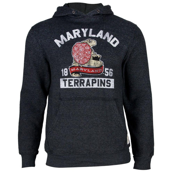 Maryland Terrapins - 1856 Tri-Blend Adult Pullover Hoodie