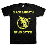 Black Sabbath - Never Say Die Adult T-Shirt