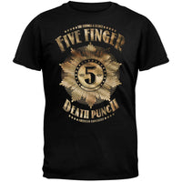 Five Finger Death Punch - Badge Adult T-Shirt