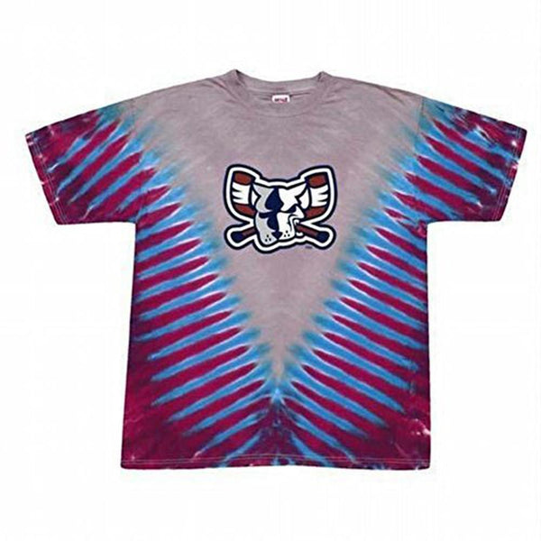 Richmond Riverdogs - Mad Dog V Dye Tie Dye T-Shirt