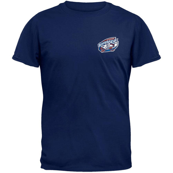 Richmond Riverdogs - Crest Print Navy Logo T-Shirt