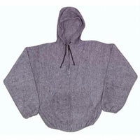 Earth Ragz - Grey Hooded Full Zip Jacket