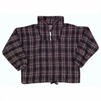 Earth Ragz - Plaid Zip Neck Pullover Jacket