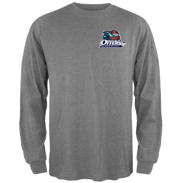 Missouri River Otters - Embroidered Logo Long Sleeve T-Shirt