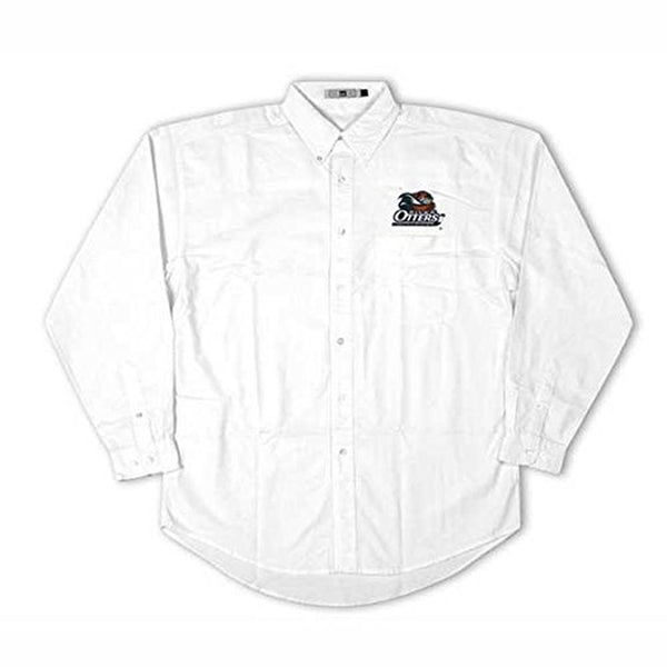 Missouri River Otters - Crest Logo Oxford Long Sleeve Shirt