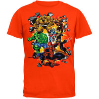 Spider-Man - Marvel Heroes Burst T-Shirt