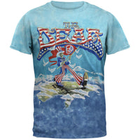 Grateful Dead - Wave That Flag Tie Dye T-Shirt