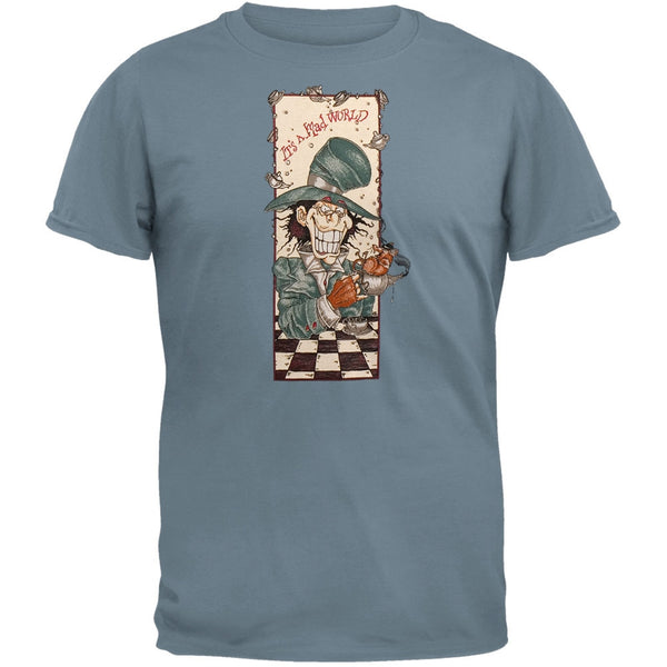 Mad Hatter - Lt Blue T-Shirt