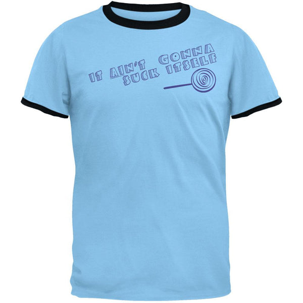 Suck Itself Ringer T-Shirt