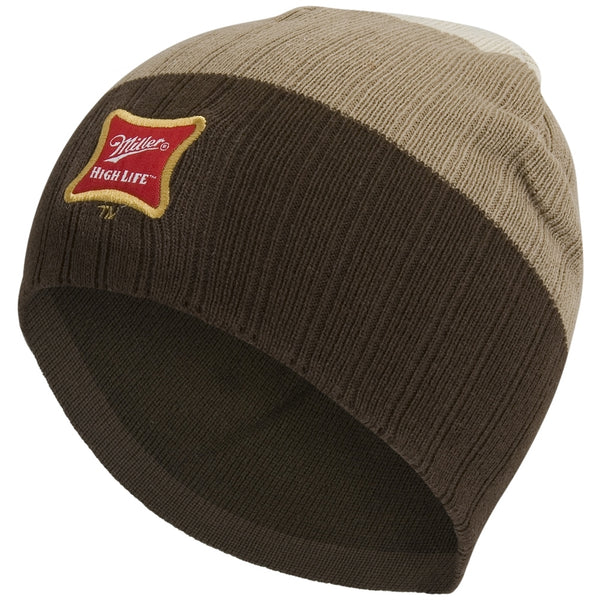 Miller - Tri-Color - Stripped Knit Hat
