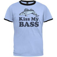 Kiss My Bass Ringer T-Shirt