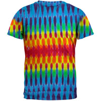 Horizontal Pleats Tie Dye T-Shirt