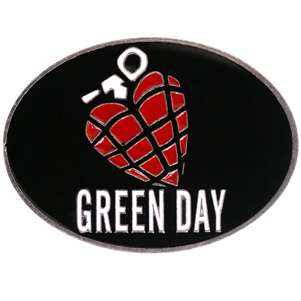 Green Day - Grenade Belt Buckle