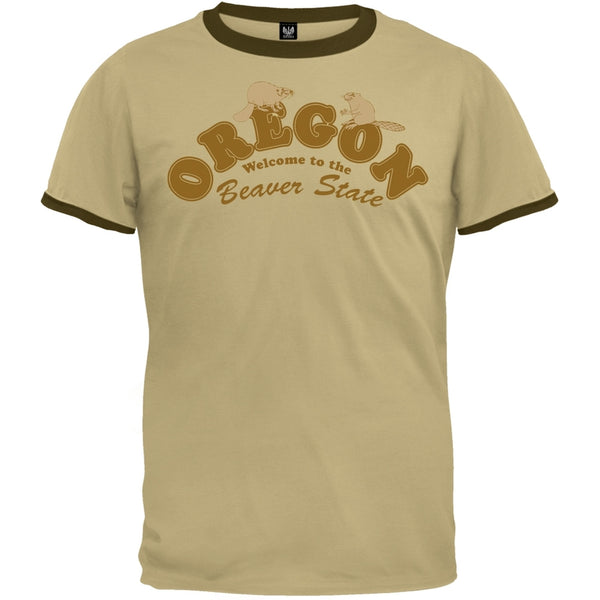 Retro State - Oregon Beavers Ringer T-Shirt