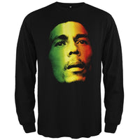 Bob Marley - Face Long Sleeve T-Shirt