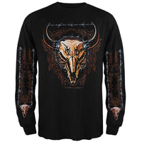Buffalo Skull Long Sleeve T-Shirt