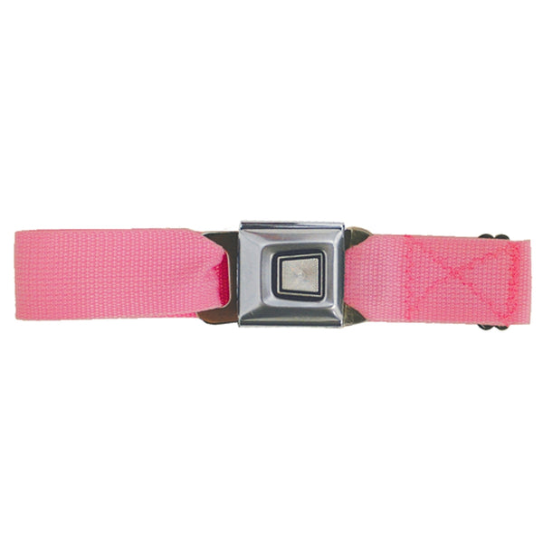 Ford Burst Seatbelt - Neon Pink Web Belt