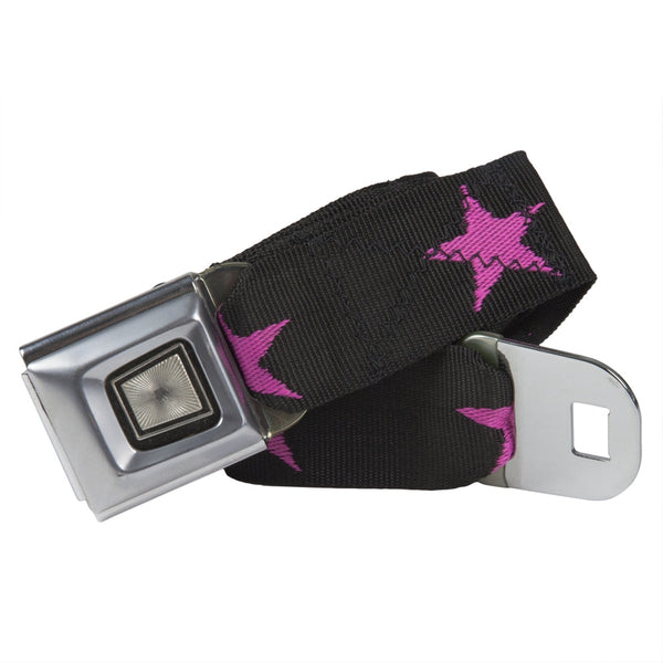 Ford Burst Seatbelt - Star Pink Web Belt