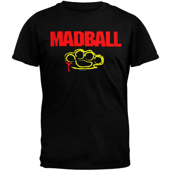 Madball - Brass Knuckles Black T-Shirt