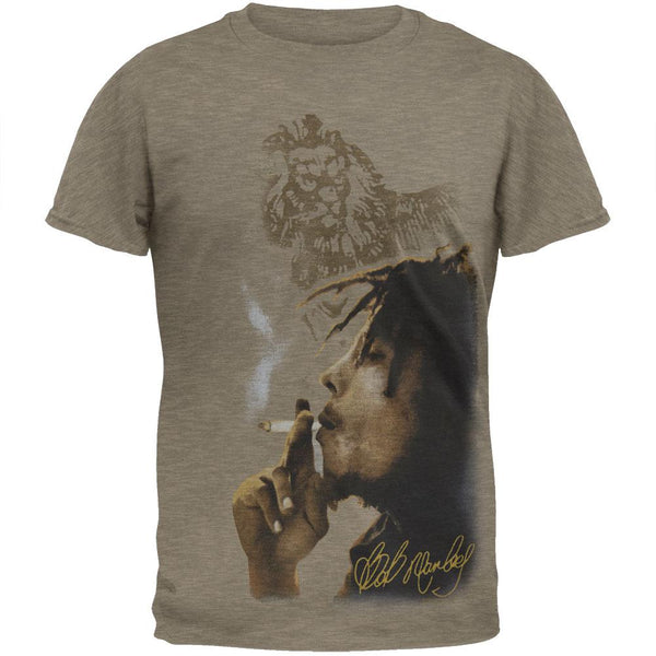 Bob Marley - Smoke Side Soft T-Shirt