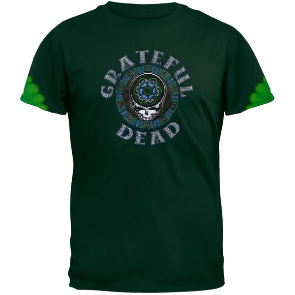 Grateful Dead - Celtic Face Tie Dye T-Shirt