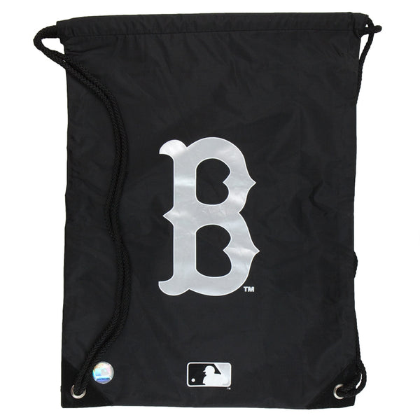 Boston Red Sox - Logo Black Nylon Backsack