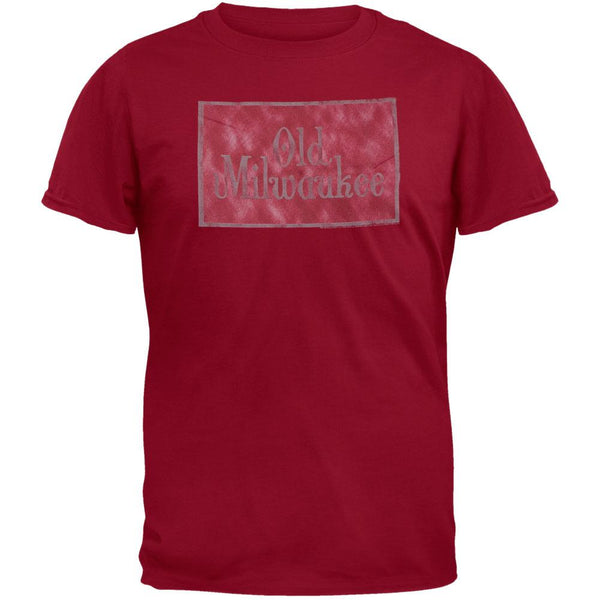 Old Milwaukee - Logo Maroon T-Shirt