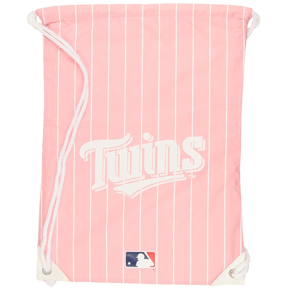 Minnesota Twins - Logo Pink Nylon Backsack