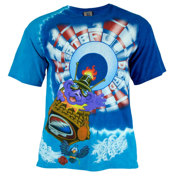 Grateful Dead - Balloon Bear Tie Dye T-Shirt