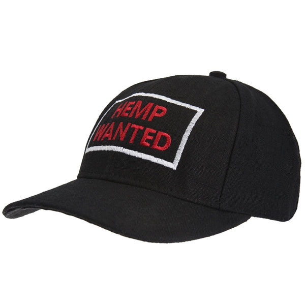 Hemp Wanted Hemp Baseball Cap