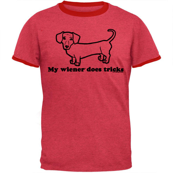 My Wiener - Does Tricks Ringer T-Shirt