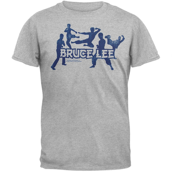 Bruce Lee - Silhouettes Soft T-Shirt