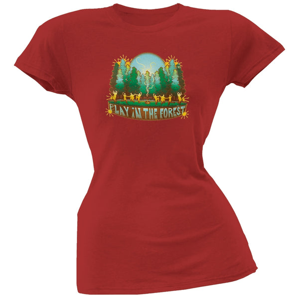 Little Hippie - Play In The Forest Organic Juniors T-Shirt