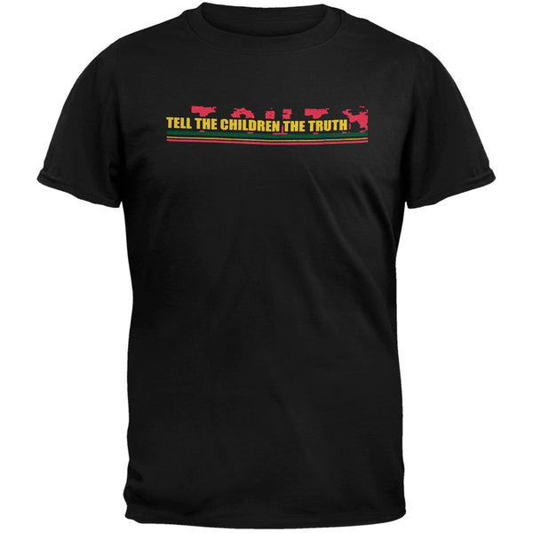 Little Hippie - Tell The Children Black Youth T-Shirt