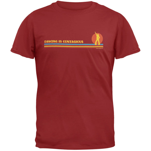 Little Hippie - Dancing Is Contagious Maroon Youth T-Shirt