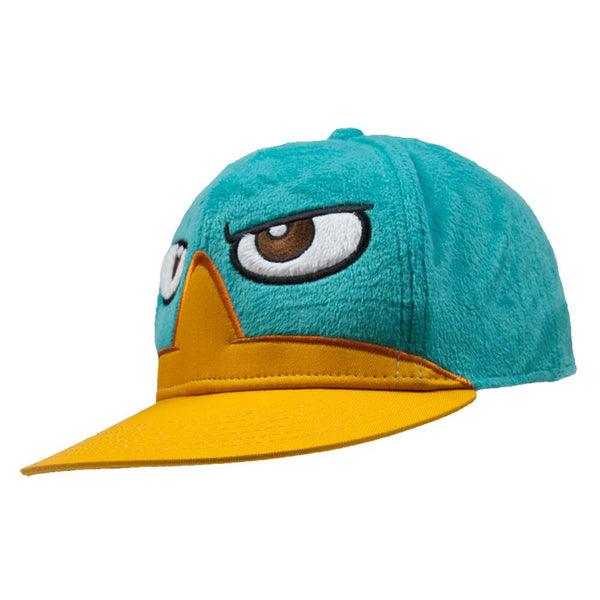Phineas & Ferb - Perry Face Flatbill Fitted Cap